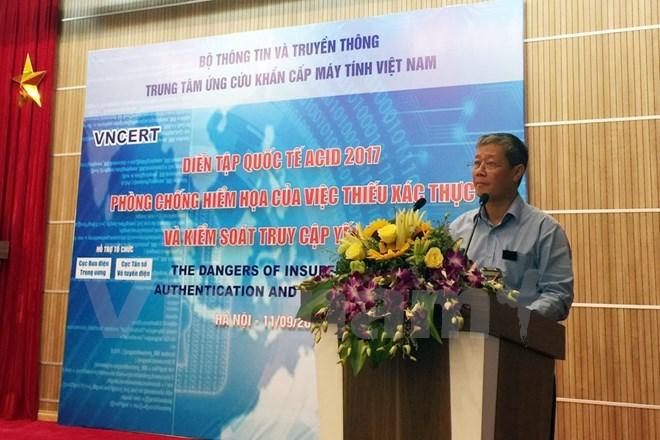 Le Vietnam organise l'exercice ASEAN CERT