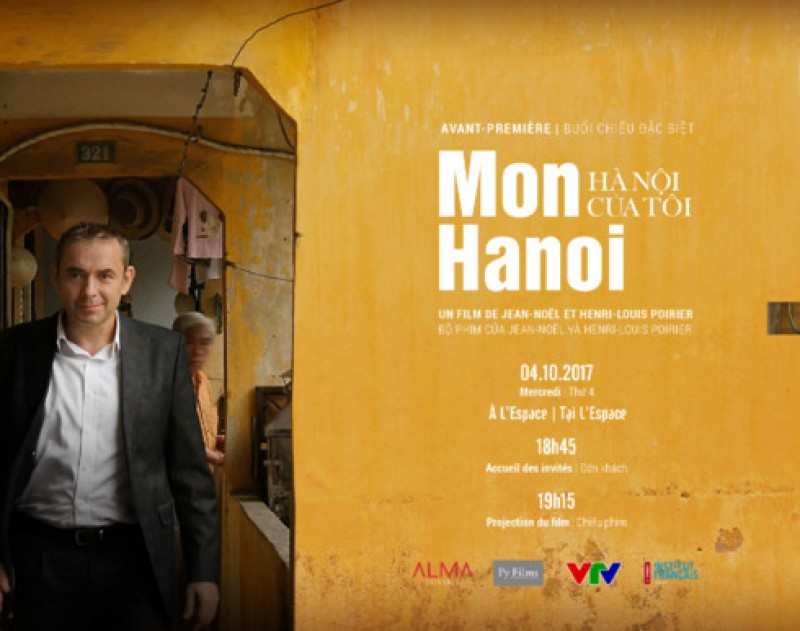 Présentation d'un film sur Hanoi de l'ancien ambassadeur de France au Vietnam