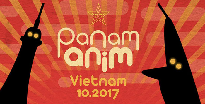 Panam Anim Vietnam 2017 à Hanoï et Hô Chi Minh-Ville