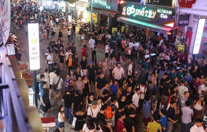 Plus de 5 millions de touristes étrangers à Ho Chi Minh-Ville en 10 mois