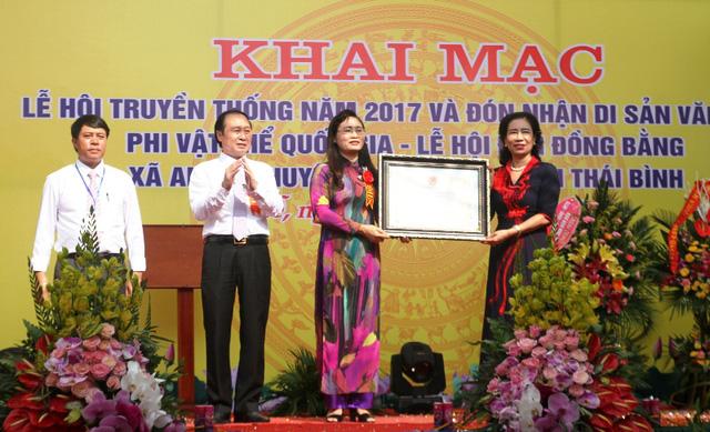Thai Binh: le Festival du temple Dong Bang reconnu comme patrimoine national