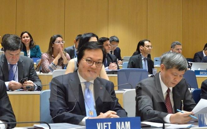 Le Vietnam a été élu président de l