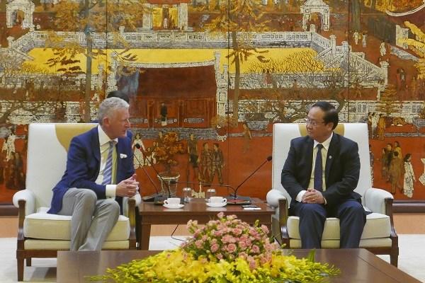 Promouvoir la coopération entre Hanoi et les localités belges