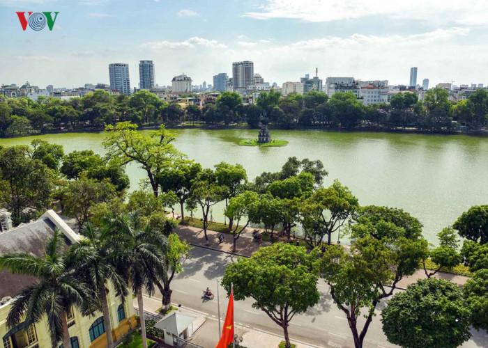 La beauté étincelante de Hanoi à la Journée de la Libération de la capitale