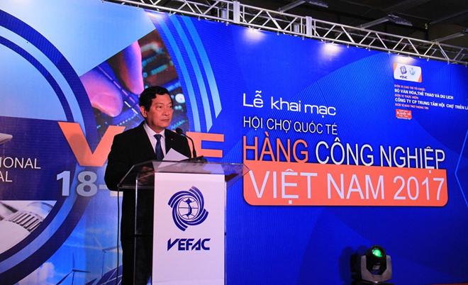 Hanoi: ouverture de la Foire industrielle internationale du Vietnam- VIIF 2017