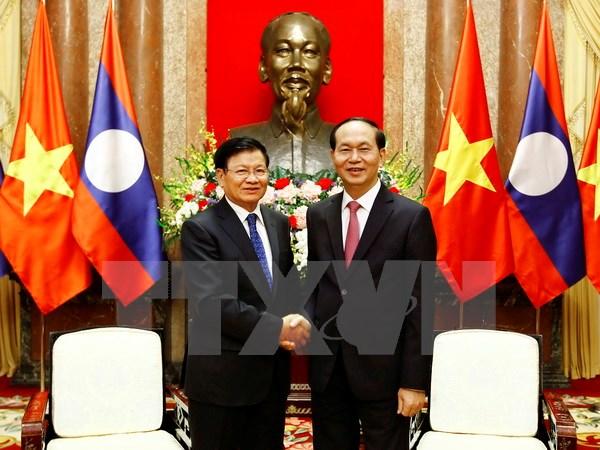 Développement des relations Vietnam-Laos