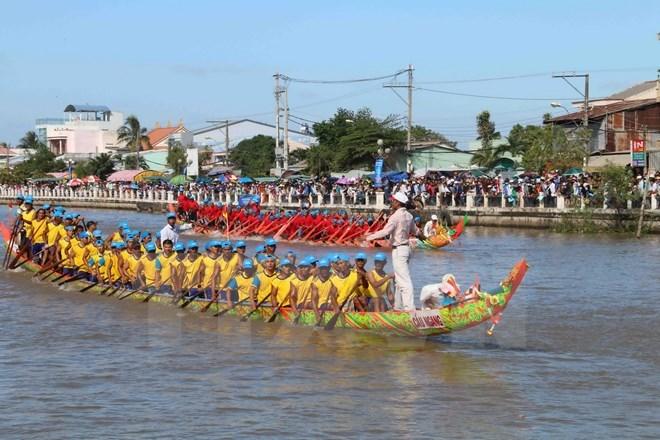 De nouvelles activités au festival Ok Om Bok à Soc Trang