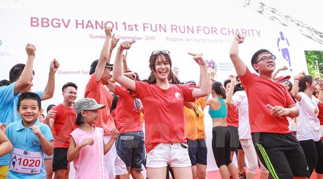Bientôt la course Fun Run 2017 à Hanoi