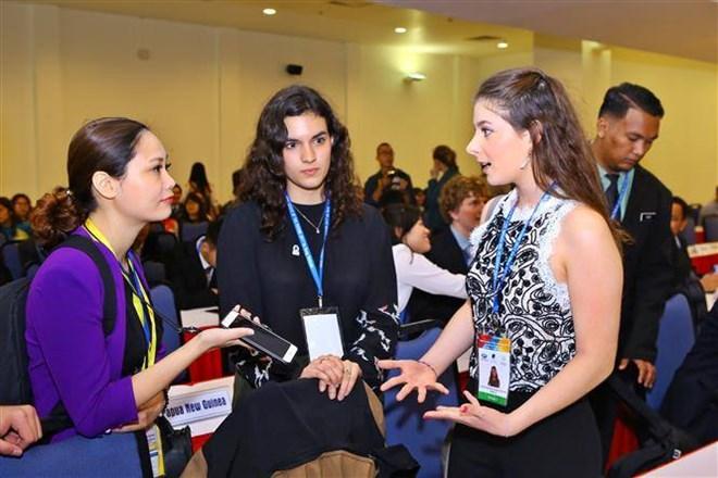 Les jeunes de l'Asie-Pacifique discutent de leurs apports à la Vision de l'APEC