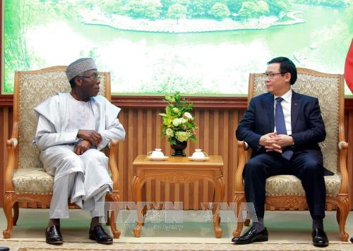 Le Vietnam souhaite développer la coopération multiforme avec le Nigeria
