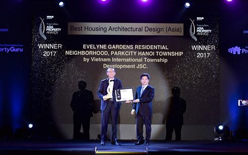 ParkCity Hanoi honoré au Prix de la propriété asiatique