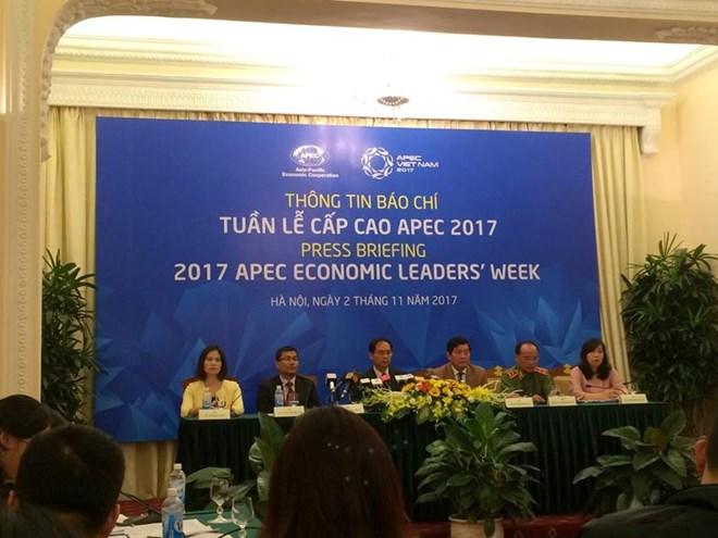 Tous les préparatifs pour la Semaine des dirigeants économiques de l'APEC 2017 sont achevés
