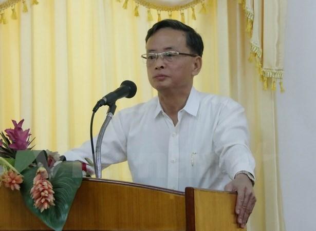 Coopération Vietnam-Laos dans une formation de journalisme à Vientiane
