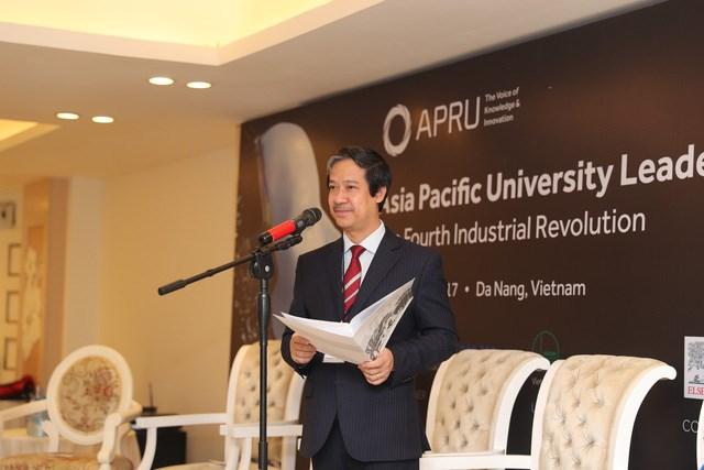 Forum des leaders universitaires de l'APEC 2017 à Da Nang