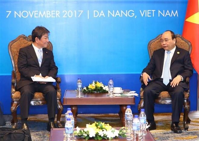 Le Premier ministre reçoit le ministre japonais de la Revitalisation économique