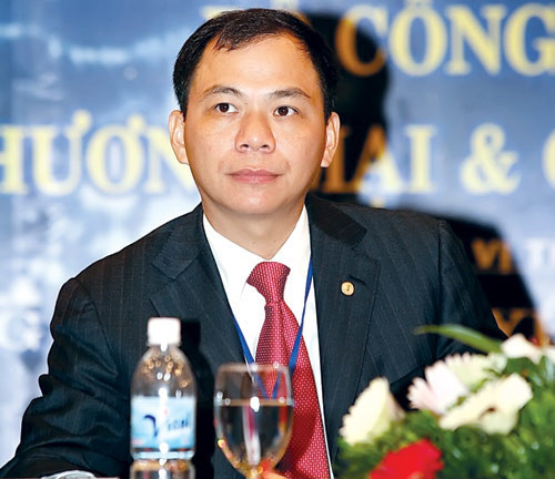 Milliardaires: Pham Nhât Vuong arrive au 665e rang mondial