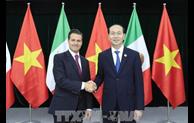 APEC 2017 : le président Tran Dai Quang rencontre son homologue mexicain