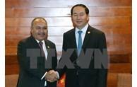 APEC 2017: le Vietnam et la Papouasie-Nouvelle-Guinée renforcent leur coopération