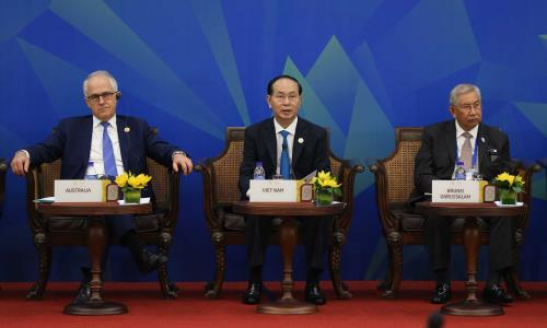Déclaration à la presse du Président du Dialogue informel des dirigeantes de l'APEC et de l'ASEAN