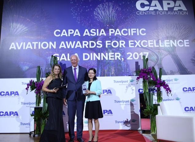 Vietnam Airlines reconnue comme compagnie aérienne de l'année 2017 en Asie-Pacifique
