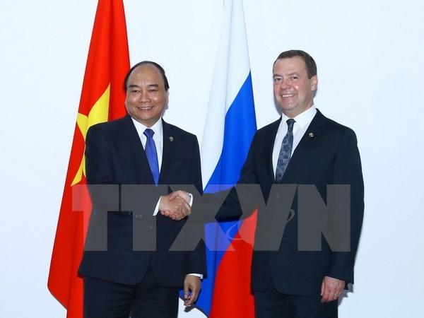 Le Premier ministre rencontre les dirigeants russe et philippin en marge du sommet de l