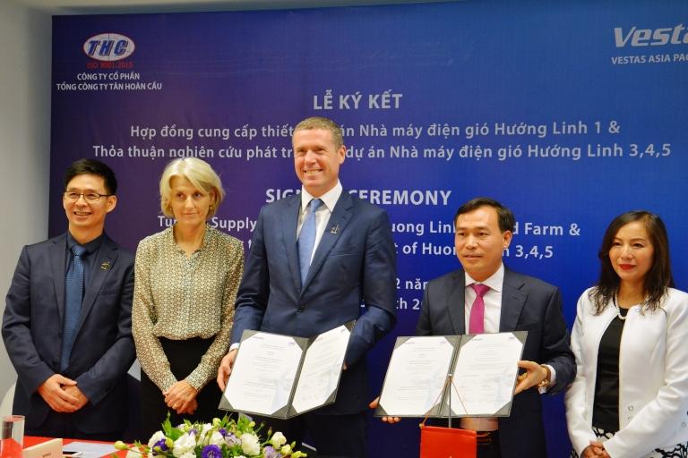 Un projet éolien de 22 millions d'euros prévu à Quang Tri