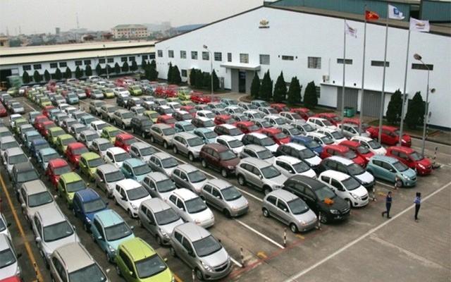 Recul des importations d'automobiles en 11 mois