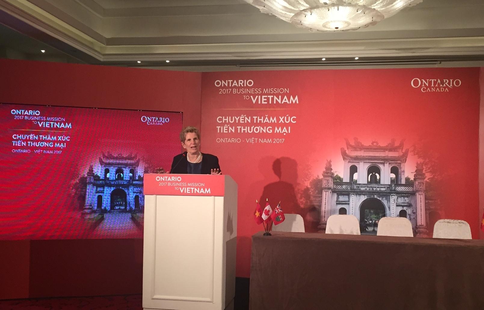 Vietnam-Ontario : signature de six mémorandums de coopération