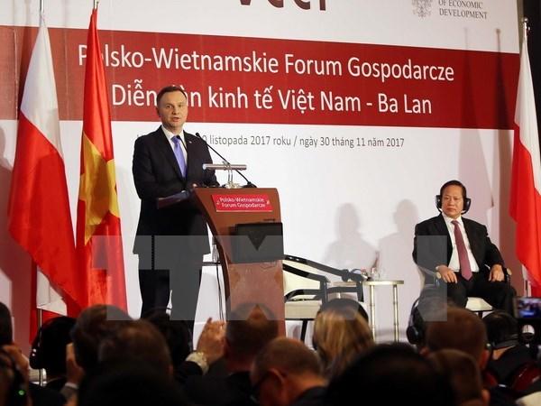 Ouverture du forum économique Vietnam - Pologne à Hô Chi Minh-Ville