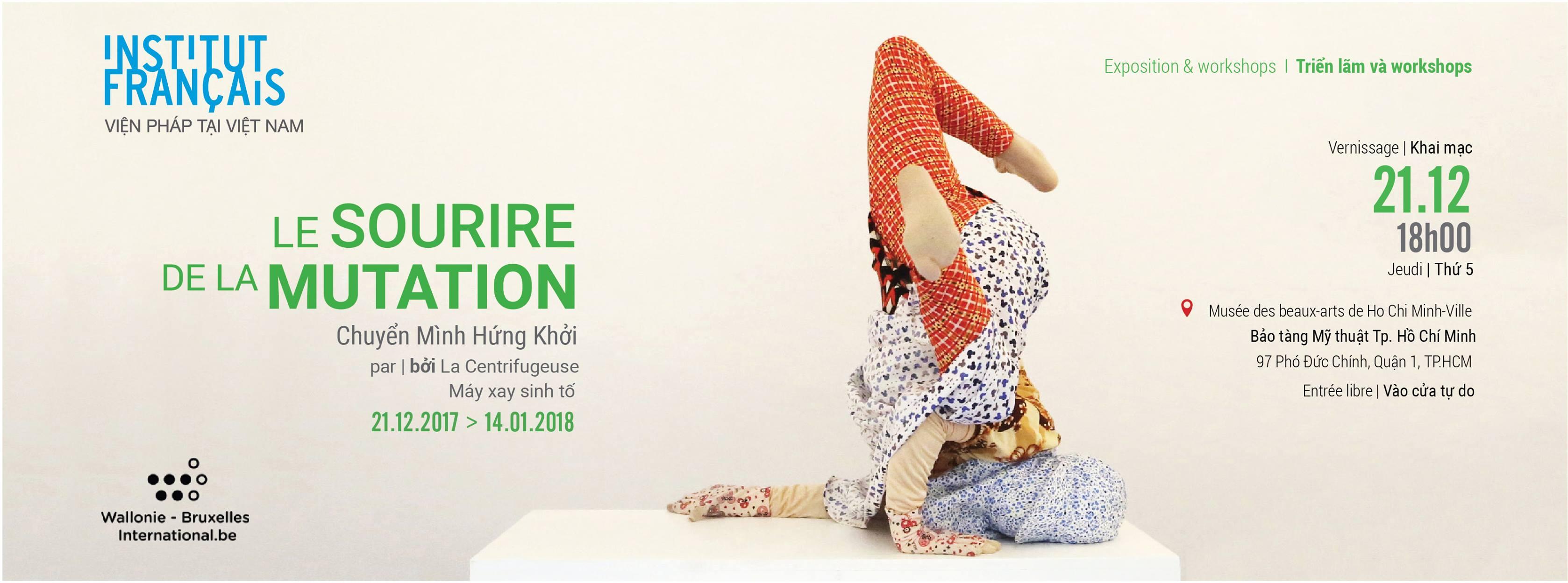 Bientôt l'exposition «Le sourire de la mutation» à Hô Chi Minh-Ville