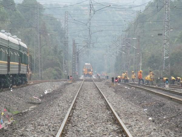 La Chine construit une ligne de chemin de fer à grande vitesse vers l