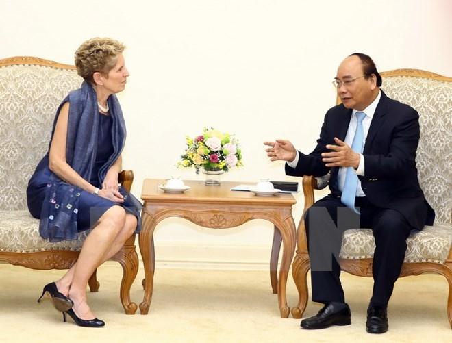 Le Premier ministre Nguyen Xuan Phuc appelle les entreprises canadiennes à venir investir au Vietnam