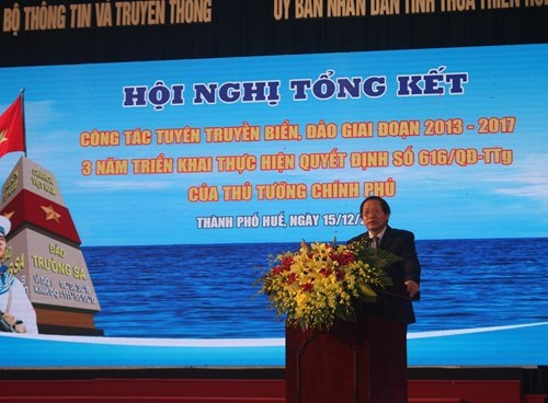 Conférence-bilan sur le travail d'information sur la mer et les îles