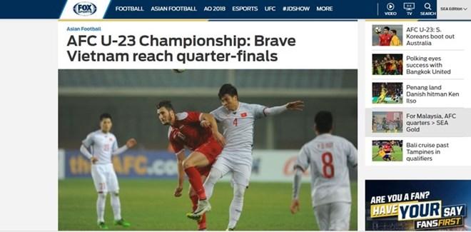 Football : la presse salue la performance de l