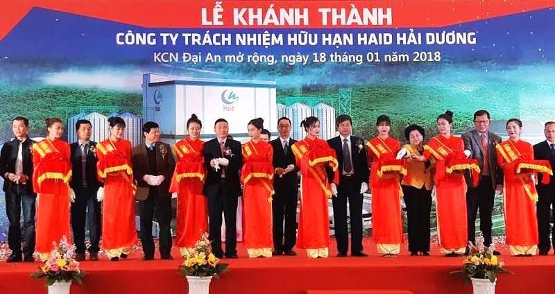 Inauguration d'une usine d'aliments pour animaux de 15 millions de dollars à Hai Duong