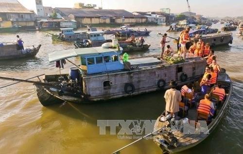 La ville de Can Tho accueille 7,5 millions de touristes en 2017
