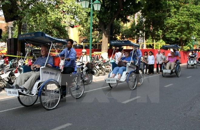 Hanoi vise 5,5 millions de touristes étrangers en 2018