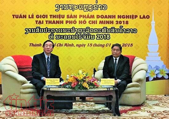Intensification de la promotion commerciale entre Hô Chi Minh-Ville et le Laos