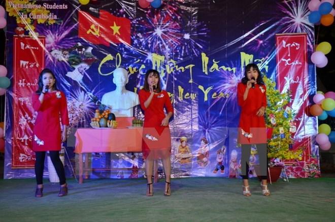 Soirée de gala en l'honneur du Nouvel An au Cambodge