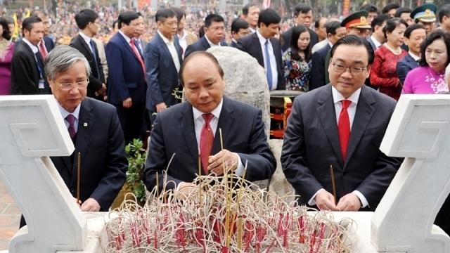 Célébration des 229 ans de la victoire de Ngoc Hôi - Dông Da à Hanoi