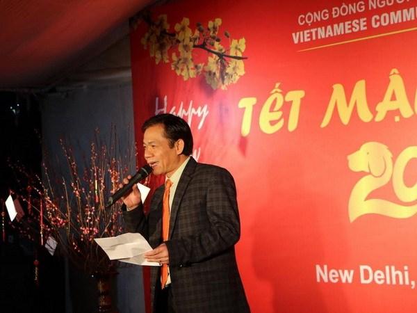 Les Vietnamiens en Inde célèbrent le Têt du Chien 2018