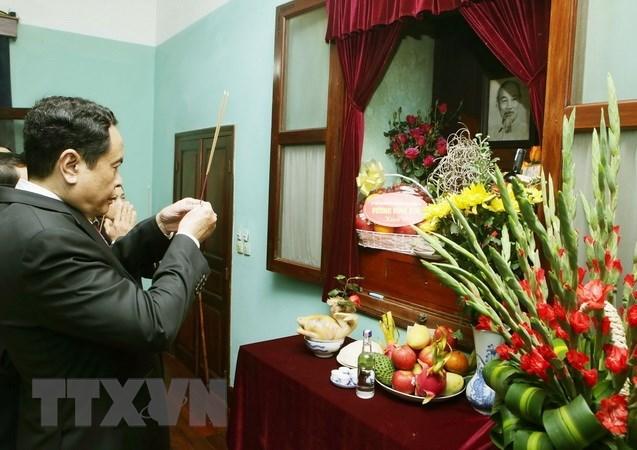 Le président du CC du FPV rend hommage au Président Ho Chi Minh