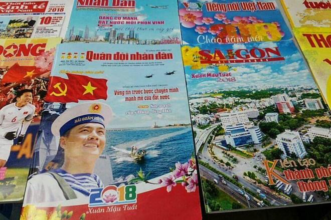 Vœux et événements marquants font les titres de la presse printanière