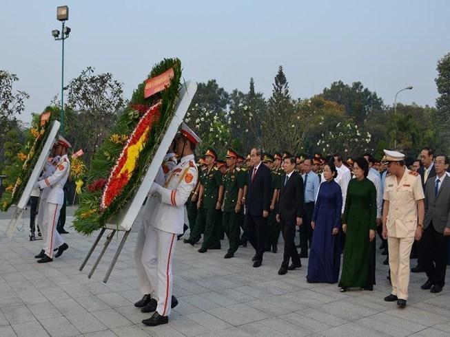 Les autorités de HCM-Ville commémorent les martyrs de guerre