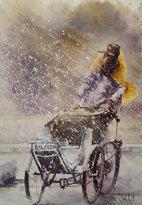 Un aquarelliste français passionné du Vietnam
