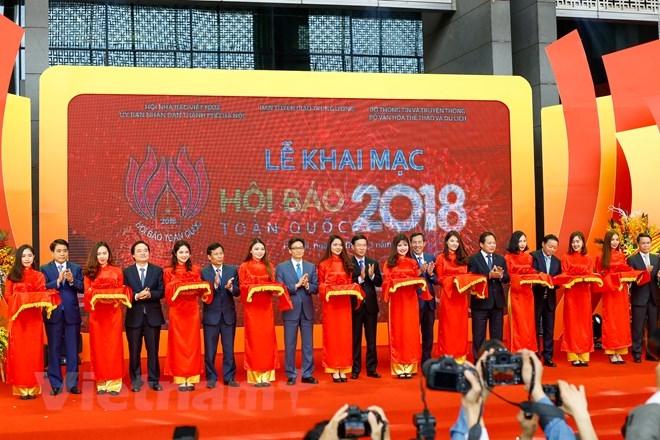 La Fête nationale de la presse 2018 s'ouvre à Hanoï