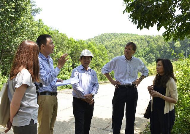 Aide américaine dans la protection des forêts au Centre