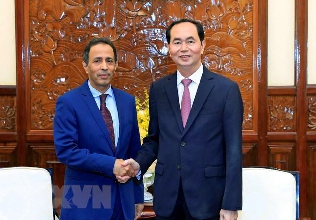 Le président Trân Dai Quang reçoit l'ambassadeur d'Arabie saoudite