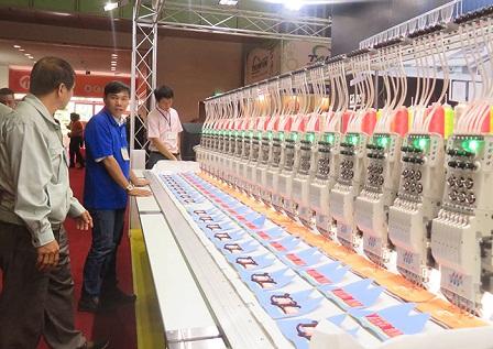 Nombre record d'entreprises participantes au Saigontex 2018