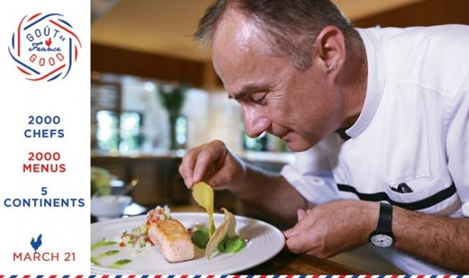 Goût de France / Good France: une occasion pour déguster des menus à la française au Vietnam